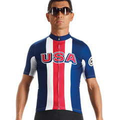 Assos Jersey Usa Cycling