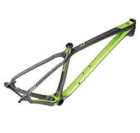 Cuadro Niner Air 9 Carbon Gun Metal Niner Green 4